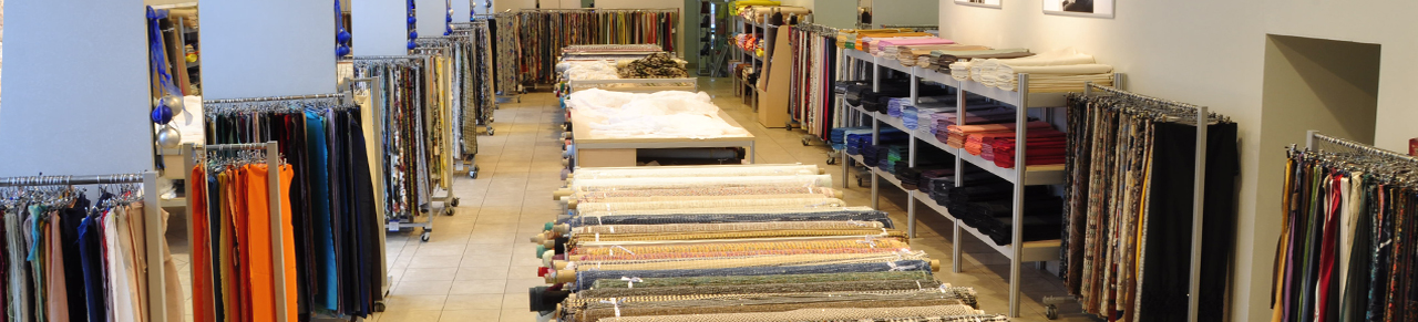 Fabric shops TISSURA Hong Kong