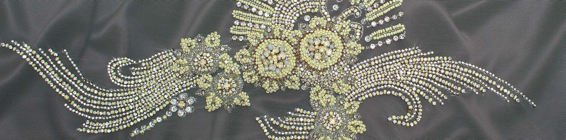 decollete embellishment